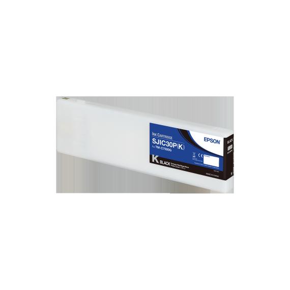 Cartouche d'encre Noir Epson ColorWorks C7500G (295.2 ml)
