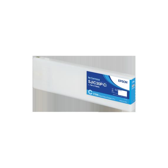 Cartouche d'encre Cyan Epson ColorWorks C7500G (294.3 ml)