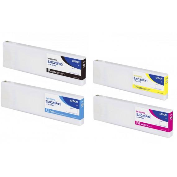 Pack cartouches d'encre EPSON ColorWorks C7500