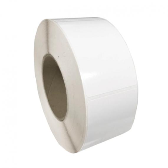 Etiquettes 60x90mm papier blanc brillant