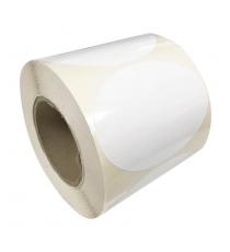 Etiquettes ovales 120x90mm