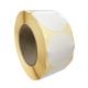 Etiquettes rondes diam. 100mm / Papier blanc brillant-satin / Bobine échenillée de 600 étiquettes GS