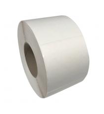 Etiquettes 90x90mm / Vergé Blanc / Bobine échenillée de 1000 étiquettes GS