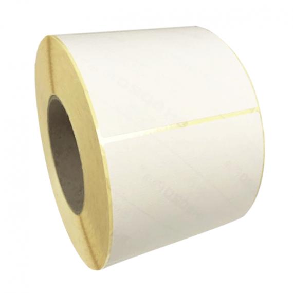 Etiquette vierges 120x90mm / Vergé ivoire / Bobine de 500 étiquettes