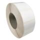 Etiquettes 30x30mm / Polypro blanc brillant / Bobine échenillée de 2000 étiquettes GS
