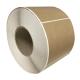 Etiquettes 110x100 mm / Kraft natural bois / Bobine échenillée de 1 000 étiquettes GS