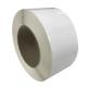 Bobine étiquettes 65x50mm / Papier blanc brillant / Bobine échenillée de 1200 étiquettes GS
