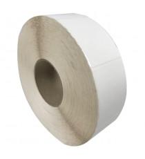 Etiquettes 80X60mm / Centaure Blanc / bobine échenillée de 1000 étiquettes GS