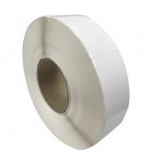 Etiquettes double découpe 35x150mm / Papier blanc brillant / Bobine de 1000 étiquettes GS