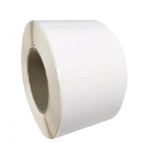 Etiquettes adhésives vierges 60X45mm / Papier mat blanc jet d'encre / Bobine échenillée de 2500 étiquettes GS