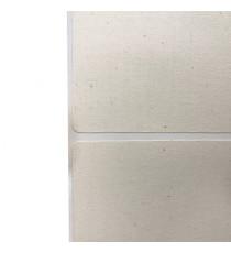 Etiquettes Primera Cotton 80x60mm / Ivoire / Bobine de 575 étiq.