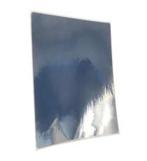 Etiquettes 80x60 mm / Polypro Argent brillant