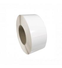 Bobine d'étiquettes 76 x 152 mm blanc brillant / bobine de 350 étiq.