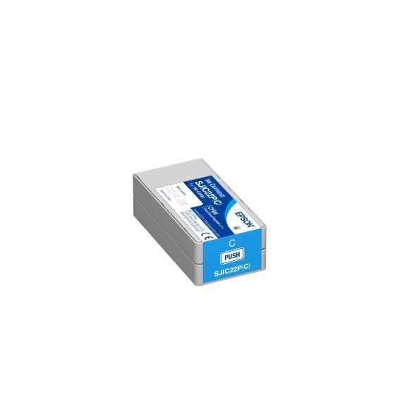 Cartouche d'encre Cyan Epson TM-C3500 (32.5 ml)