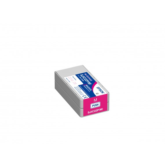 Cartouche d'encre Magenta Epson TM-C3500 (32.5 ml)