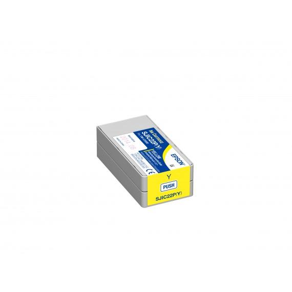 Cartouche d'encre Jaune Epson TM-C3500 (32.5 ml)