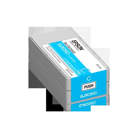 Cartouche d'encre Cyan Epson ColorWorks C831 (32.5 ml)
