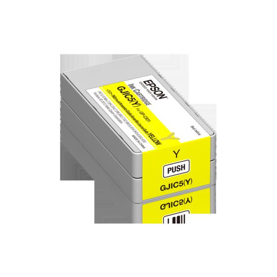 Cartouche d'encre Jaune Epson ColorWorks C831 (32.5 ml)
