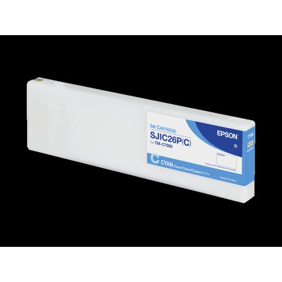 Encre Cyan Epson ColorWorks C7500 (294.3 ml)