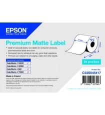 EPSON Rouleau adhésif Continu Premium Matte 51X35mm pour TM-C3400