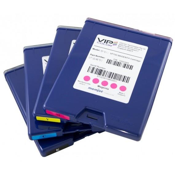 Pack de 5 cartouches d'encre VP700 (cyan, magenta, jaune et 2 noir)